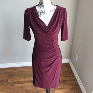 Lauren Ralph Lauren Colour Block Sheath Dress